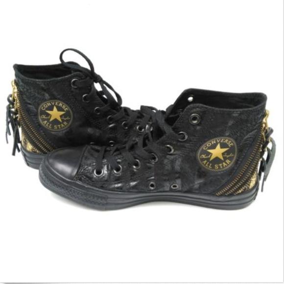 c4b4b3d250fa Converse Shoes - Converse Chuck Taylor All Star Tri Zip High Top 8